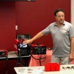 Stud welding demo with Nelson Stud Welding