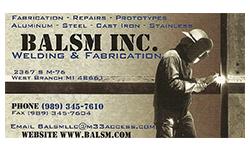 Balsm Inc.