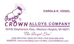 Crown Alloys Company