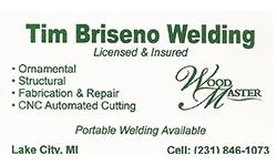 Tim Briseno Welding